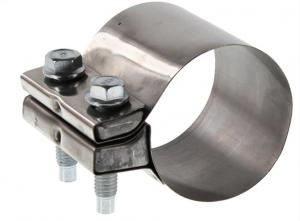 China T304 Polished 64mm 2.5 Stainless Exhaust Clamp wholesale