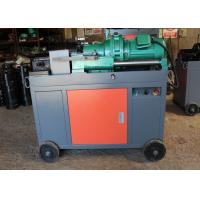 Buy cheap Peeling Rebar Thread Rolling Machine Portable Pipe Threading Machine 5.5KW from wholesalers