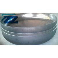 China ASTM A234 WP22 Steel Pipe End Caps , Alloy Steel DN350 Sch 80 Butt Weld Cap wholesale