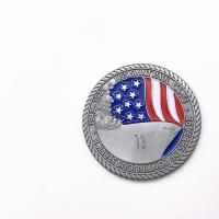 China Metal Military Challenge Coins / 3D Antique Silver Coins For Promotional wholesale