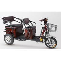 China Waterproof Motor 2 Seat Electric Tricycle Adult Motorized Tricycle For Passenger wholesale
