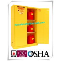 China Laboratory Grounding Corrosive Chemical Storage Cabinets With Double Vents wholesale