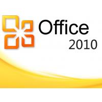 Quality Genuine Microsoft Office 2010 Professional Product Key One PC Retail key & Download Link for sale