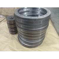 Buy cheap Custom rack gear internal gear spur stainless steel big gears from wholesalers