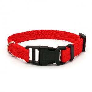 China Dog Collar Durable Polyester Colorful Dog Accessories For Teddy French Bulldog wholesale