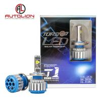 Buy cheap Auto part T1 Cree chip 40w 4000 lm universal bright 880 led headlight from wholesalers