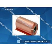 Buy cheap 35um Single Shiny FCCL / PCB Electrolytic Copper Shielding Foil For Pcb Printed from wholesalers