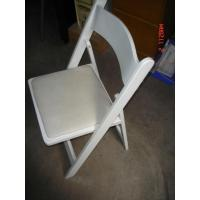 Buy cheap White Wooden Folding Chair (WF001) from wholesalers