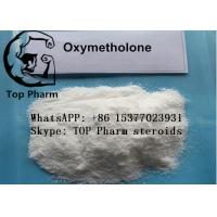 China 99%  purity Oxymetholone/Anadrol CAS 434-07-1 oral steroids powder for builing body wholesale