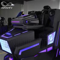 Quality Cockpit 360 Degree VR Motion Racing Simulator For Shopping Mall for sale