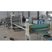 China Plastic Sheet Extrusion Line , Twin Screw PVC Extrusion Machinery wholesale
