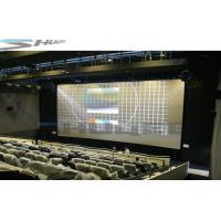 China Pneumatic / Hydraulic / Electronic Control 4D Movie Theater Motion Chair Cinema System wholesale