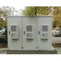 Quality Three Compartment Fiber Optic Cabinet Galvanized Steel For Outdoor for sale