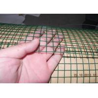 China Dark Green  Welded Wire Mesh Electro Galvanized Steel Grid Surface Passivation Construction wholesale