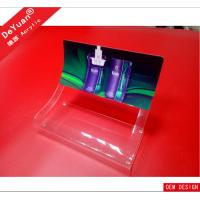 China Acrylic cigarette display stand / clear acrylic cigarette counter display wholesale