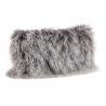 China Tibetan Sheepskin Sofa Pillow Covers 10-15cm Long Curly Hair For Bed / Sofa / Chair wholesale