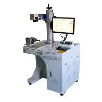 Buy cheap 30W Coffee Spoon/Bearing/Aluminum Nameplate/Stainless Steel Cylinder Laser Marking Machine from wholesalers