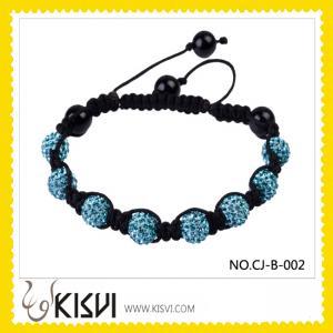 China Fashion Crystal Beads Bangle Bracelets  wholesale