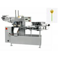 China Commercial Candy Packaging Machine / Fully Automatic Round Lollipop Single Twist Packing Machine wholesale