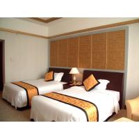 China Economic Oak Finished Hotel Bedroom Furniture Sets King-Size / Double Size Bed wholesale