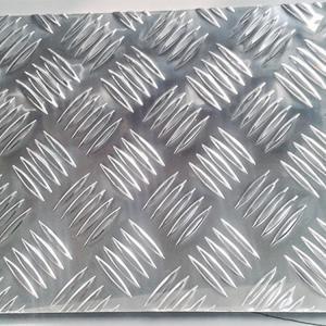 China 1000 Series Embossed Aluminum Check Plate Aluminium Chequer Plate wholesale