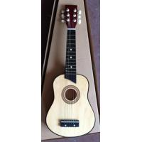 China Six String 25 Inch Wooden Toy Guitar Children Ukulele Natural Color AG25-3016C wholesale