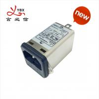 China 3A 50Hz 60Hz Inline AC DC Filter Low Pass Transfer Function Metal Case on sale