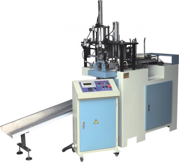 Quality Energy Saving Paper Box Manufacturing Machine , Small Box Making Machine for sale