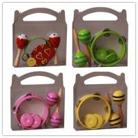 China Colorful Kids Music Instrument , Customized Percussion Toy Set wholesale