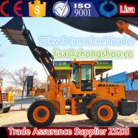 China CE 3 ton garden trucking mini wheel loader wholesale