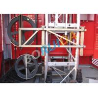 China Safety Mast Section Heavy Duty Cage Hoists Elevator Lift Machine 250m wholesale