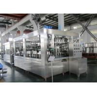 China Carbonated Soft Drink Beverage Filling Machine Multi Head 12000BPH wholesale