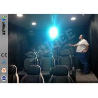 China 9 Seats Mobile Movie Theater Black With Metal Flat Screen wholesale