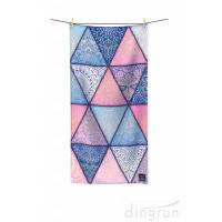 China Quick Drying Lightweight Fast Dry Printed Microfiber Beach Towel For Travel wholesale