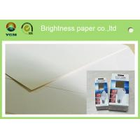 China Smoothy One Side Coated Packaging Box Paper For Name Card Environmental Friendly wholesale