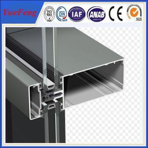 China New! china construction aluminum extrusion, curtain wall aluminium profiles wholesale