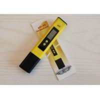 China Accurate PH Test Pen / PH Water Tester Auto Calibration 0.01 Resolution wholesale