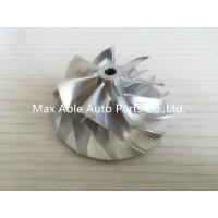 China TD04HL 46.02X58mm 7+7 blades 49189-X performance design Turbo Billet compressor wheel wholesale