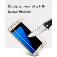 China galaxy s7 tempered glass screen protector Fulll coverage Anti-Glare scratch resistance 0.33MM ultra-thin Smooth Clarity wholesale