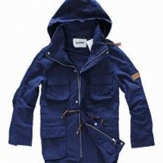 China Fashionable Windbreaker, Unisex Khaki, Navy Lifestyle Jacket/Coat, Softshell Jacket, Detachable Hood wholesale