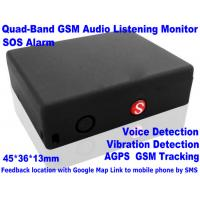 China Global Indoor Outdoor GSM LBS Tracker Spy Audio Listening Bug W/ SOS Alarm & 2-Way Calling wholesale