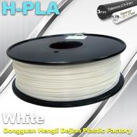 Quality Temperature Resistance 3D Printer Filament PLA Filament 1.75mm 1.3kg / Roll for sale
