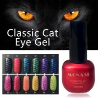 China Wholesale Nail Art Design 24 Colors 7.3ml Magic Soak off Magnetic Honey Girl Cat Eye gel wholesale