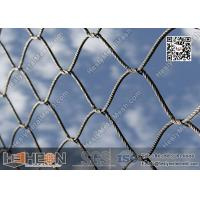 Buy cheap 316L Stainless Steel Cross Knotted Wire Rope Mesh Netting   China Factory Direct Sales from wholesalers