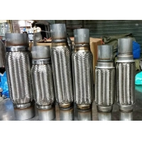 """Buy cheap Oem Id 2"""" / 51mm Iso Stainless Steel Exhaust Flex Pipe 300mm Overall Length from wholesalers"""