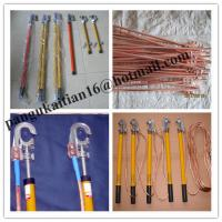 China Short circuiting rod&H.T Discharge Rod,portable earth rod set wholesale