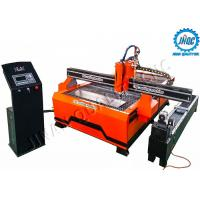 High Performance CNC Plasma Cutting Machine 1530 With Flame Cutting And Rotary