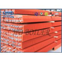 China Painted Red Boiler Fin Tube High Efficiency ASME Standard Third Party Inspection wholesale