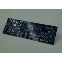 China Blue FR4 PCB Printed Circuit Board Immersion Silver Finish White Silkscreen wholesale