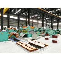 China CRS Stainless Steel Slitting Line Machine , Steel Coil Cutting Machine wholesale